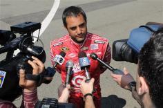 rir testing juan pablo montoya talks with media