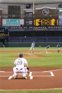 aric-almirola-nascar-tampa-bay-rays-first-pitch