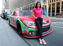 danica_patrick_breast_cancer_awareness_paint_scheme_nyc_100113_1