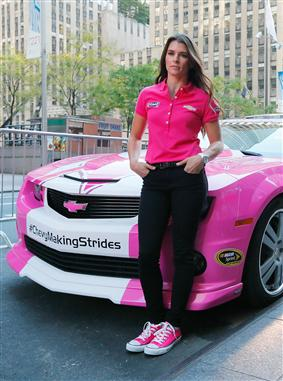 danica_patrick_breast_cancer_awareness_paint_scheme_nyc_100113_7