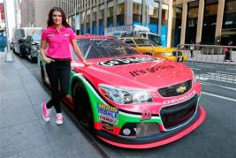 danica_patrick_breast_cancer_awareness_paint_scheme_nyc_100113_9