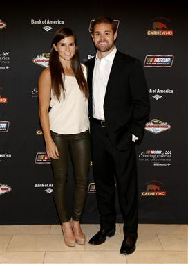 Danica Patrick and boyfriend Ricky Stenhouse Jr.