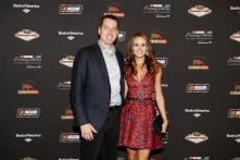 Kyle Busch and Wife Samantha Busch