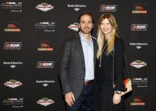 Jimmie Johnson and wife Chandra Johnson