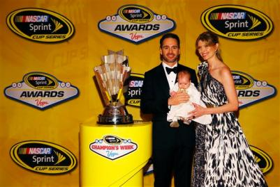 nascar_awards_vegas_2013_jimmie_johnson_chandra_lydia