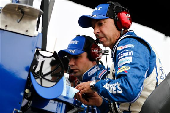 Much Ado About A Wheel Spacer – Chad Knaus Summoned To NASCAR Hauler