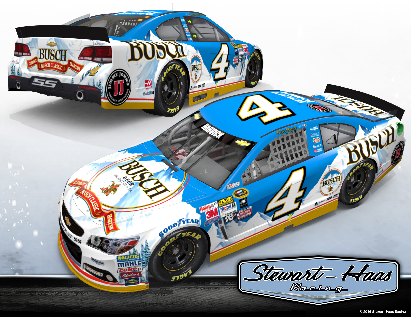 Kevin harvick 2014 car number 2017 2018 best cars reviews - Kevin Harvick Busch 4