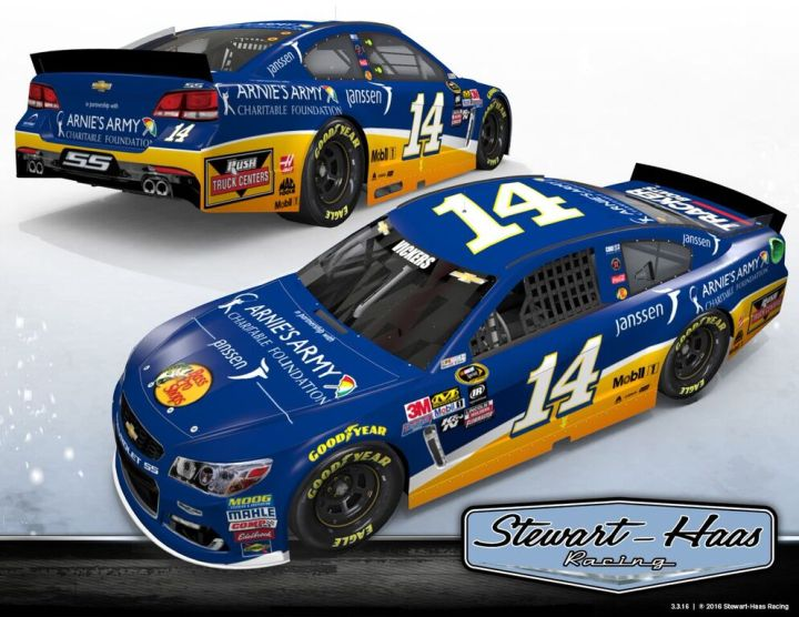 Brian Vickers in for Tony Stewart