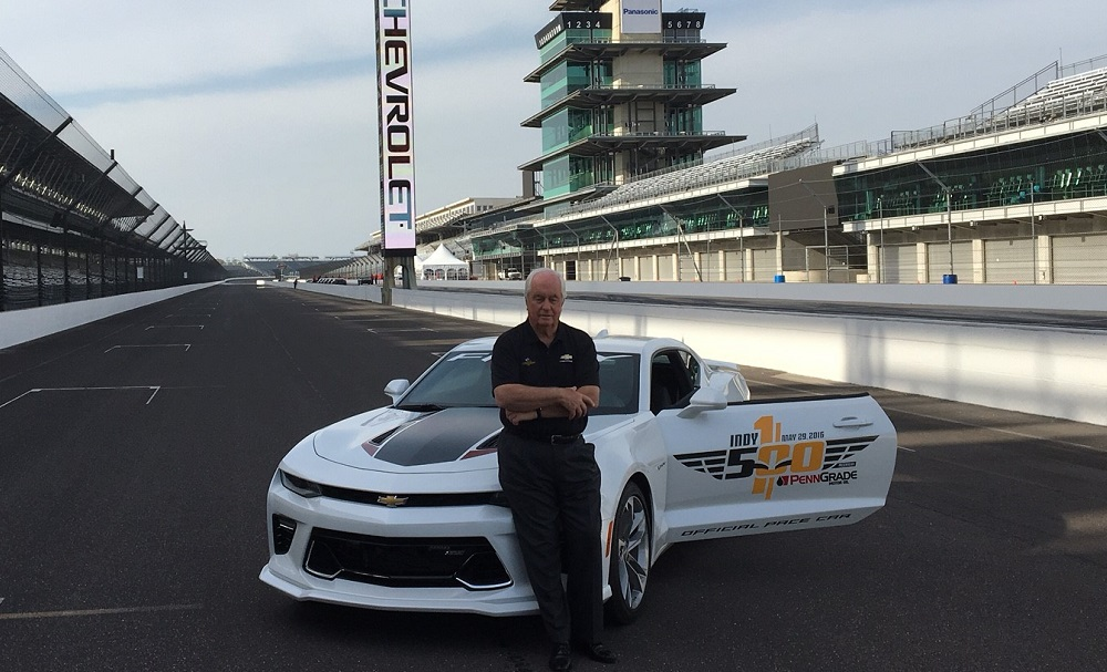 Roger Penske Driving Indy 500 Pace Car At 100th Running The Final Lap