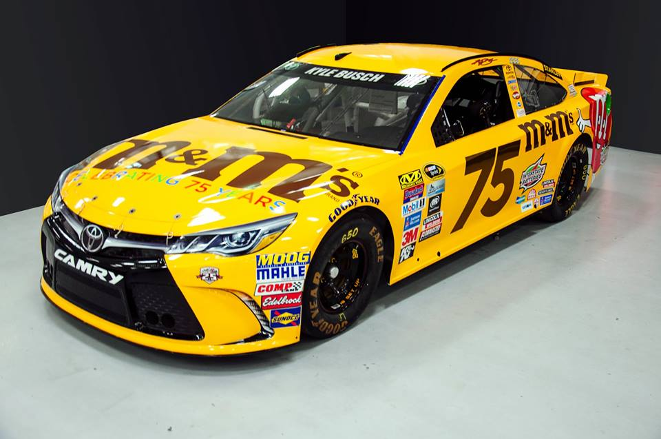 M Amp M S Changing Kyle Busch S Car Number For All Star Event