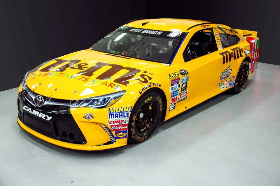 M m s changing kyle busch s car number for all star event the final lap - Pictures of kyle busch s car ...