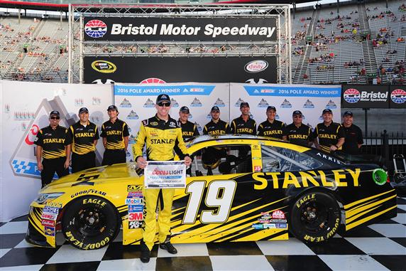 Carl Edwards Bristol Pole