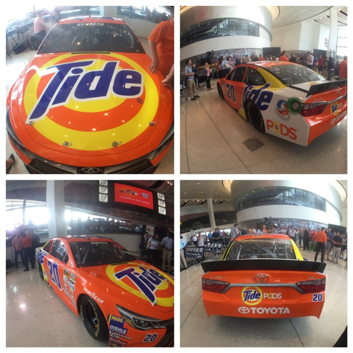 Matt Kenseth Tide #20