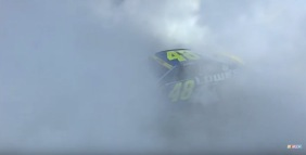 Jimmie Johnson 7th Burn Out