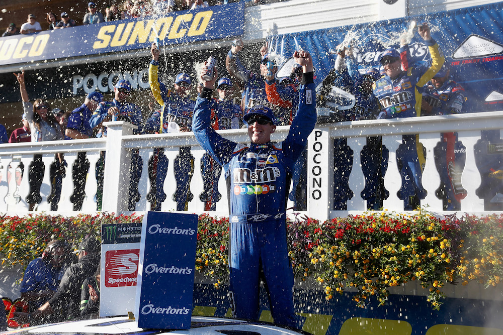 Kyle Busch breaks 36-race winless drought with Pocono victory ...
