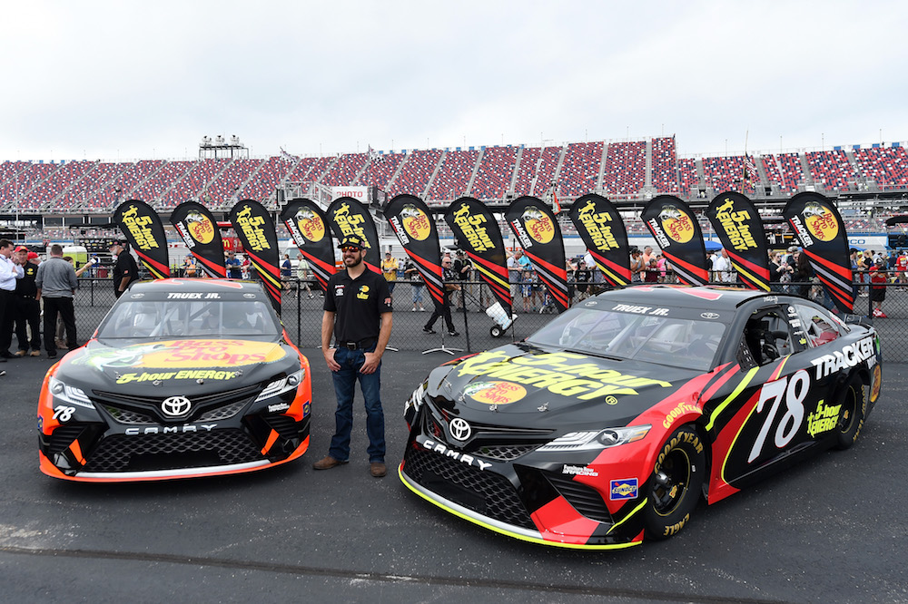 Furniture row racing announces 30 race co primary for Furniture row racing